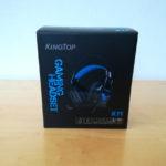 KINGTOPのゲーミングヘッドセット K11を購入&開封・使用感レビュー