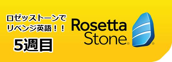 rosetta stone logo week5