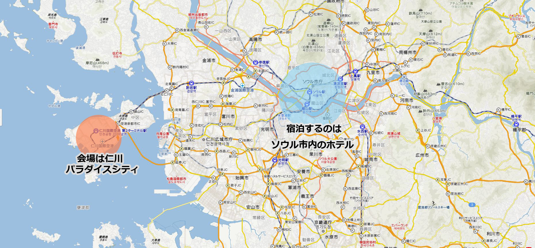 korea map3